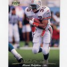1995 Upper Deck Football #271 Bernie Parmalee - Miami Dolphins