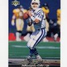 1995 Upper Deck Football #242 Jim Harbaugh - Indianapolis Colts