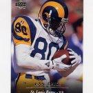 1995 Upper Deck Football #239 Isaac Bruce - St. Louis Rams