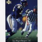 1995 Upper Deck Football #197 Leslie O'Neal - San Diego Chargers