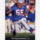 1995 Upper Deck Football #188 Willie McGinest - New England Patriots