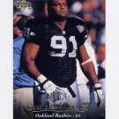 1995 Upper Deck Football #168 Chester McGlockton - Oakland Raiders