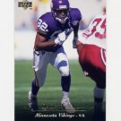 1995 Upper Deck Football #120 Qadry Ismail - Minnesota Vikings