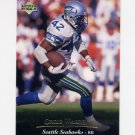 1995 Upper Deck Football #114 Chris Warren - Seattle Seahawks