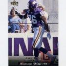1995 Upper Deck Football #092 Jake Reed - Minnesota Vikings