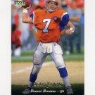 1995 Upper Deck Football #082 John Elway - Denver Broncos