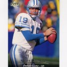 1995 Upper Deck Football #066 Scott Mitchell - Detroit Lions