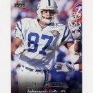 1995 Upper Deck Football #046 Sean Dawkins - Indianapolis Colts