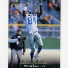 1995 Upper Deck Football #038 Herman Moore - Detroit Lions