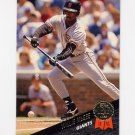 1993 Leaf Baseball #396 Willie McGee - San Francisco Giants