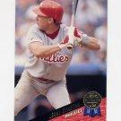 1993 Leaf Baseball #059 Len Dykstra - Philadelphia Phillies