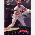 1992 Ultra Baseball All-Rookies #08 Reggie Sanders - Cincinnati Reds