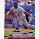 1992 Ultra Baseball #518 Marquis Grissom - Montreal Expos