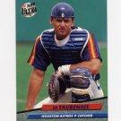 1992 Ultra Baseball #497 Eddie Taubensee RC - Houston Astros
