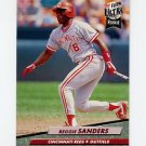 1992 Ultra Baseball #486 Reggie Sanders - Cincinnati Reds