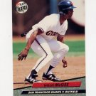 1992 Ultra Baseball #294 Willie McGee - San Francisco Giants