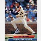1992 Ultra Baseball #202 Steve Finley - Houston Astros