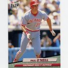 1992 Ultra Baseball #194 Paul O'Neill - Cincinnati Reds