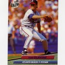 1992 Ultra Baseball #162 Tom Glavine - Atlanta Braves
