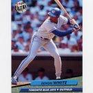 1992 Ultra Baseball #155 Devon White - Toronto Blue Jays