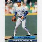 1992 Ultra Baseball #151 John Olerud - Toronto Blue Jays