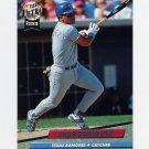 1992 Ultra Baseball #139 Ivan Rodriguez - Texas Rangers