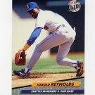 1992 Ultra Baseball #129 Harold Reynolds - Seattle Mariners