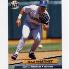 1992 Ultra Baseball #126 Edgar Martinez - Seattle Mariners