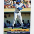 1992 Ultra Baseball #123 Ken Griffey Jr. - Seattle Mariners