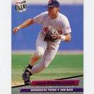 1992 Ultra Baseball #093 Chuck Knoblauch - Minnesota Twins