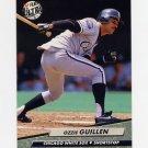 1992 Ultra Baseball #035 Ozzie Guillen - Chicago White Sox