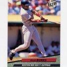 1992 Ultra Baseball #013 Ellis Burks - Boston Red Sox