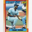 1990 Topps Baseball #414B Frank Thomas RC - Chicago White Sox
