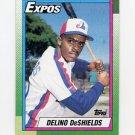 1990 Topps Baseball #224 Delino DeShields RC - Montreal Expos