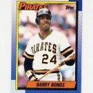 1990 Topps Baseball #220 Barry Bonds - Pittsburgh Pirates