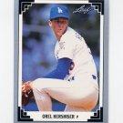 1991 Leaf Baseball #243 Orel Hershiser - Los Angeles Dodgers