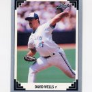 1991 Leaf Baseball #140 David Wells - Toronto Blue Jays