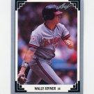 1991 Leaf Baseball #031 Wally Joyner - California Angels