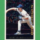 1995 Topps Baseball League Leaders #LL49 Bret Saberhagen - New York Mets