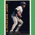 1995 Topps Baseball League Leaders #LL16 Kenny Lofton - Cleveland Indians
