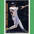 1995 Topps Baseball League Leaders #LL07 Matt Williams - San Francisco Giants