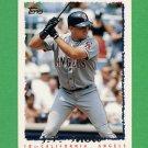 1995 Topps Baseball #582 J.T. Snow - California Angels