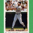 1995 Topps Baseball #519 Kirk Gibson - Detroit Tigers