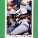 1995 Topps Baseball #487 Eric Karros - Los Angeles Dodgers