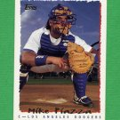 1995 Topps Baseball #466 Mike Piazza - Los Angeles Dodgers