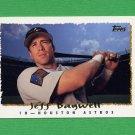 1995 Topps Baseball #405 Jeff Bagwell - Houston Astros