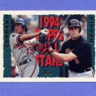 1995 Topps Baseball #387 Cal Ripken AS / Wil Cordero AS