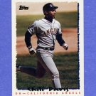 1995 Topps Baseball #335 Chili Davis - California Angels