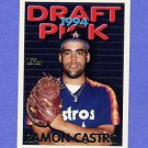 1995 Topps Baseball #313 Ramon Castro RC - Houston Astros