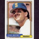 1992 Topps Baseball #553 Edgar Martinez - Seattle Mariners